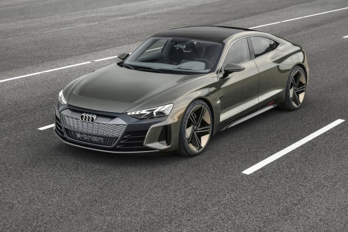 audi etron GT concept car