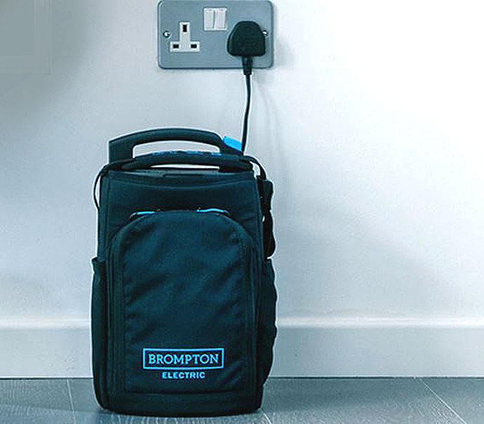 Brompton vouwbare ebike batterij