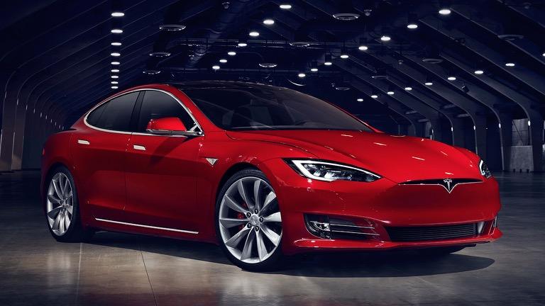 Tesla model S 01