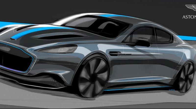 Aston Martin komt in 2019 met de Rapide E