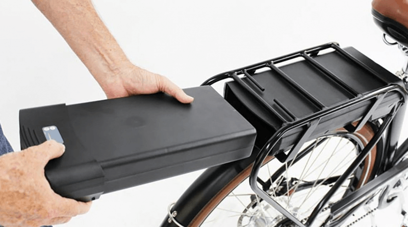 batterij van een elektrische fiets