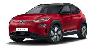 Hyundai Kona Electric rood