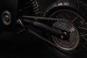 Tarform elektrische motorfiets