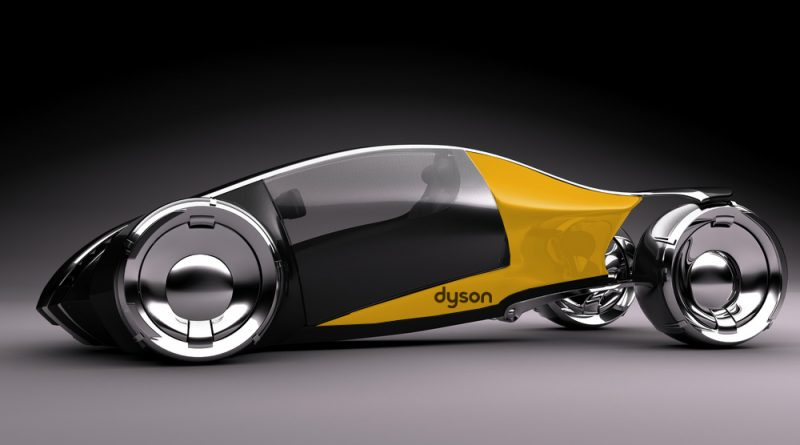 Een Dyson electrical concept car