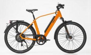 elektrische fiets met achterwielmotor