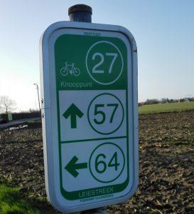 fietsknooppunten in Vlaanderen