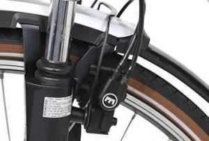 hydraulische velgrem bij een fiets