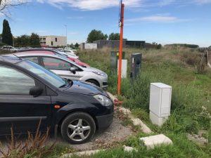 foutparkeerders elektrische laadplaatsen