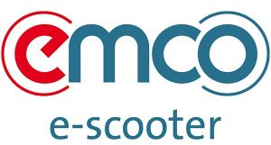 Logo Emco e-scooters uit Duitsland