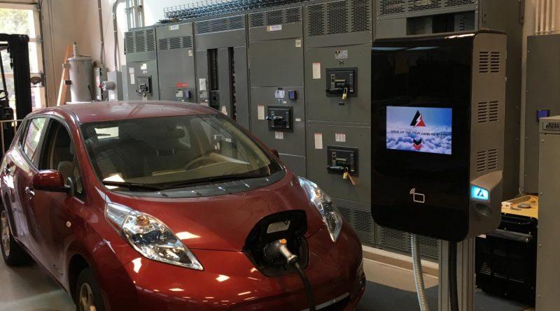 nieuwe elektrische laadpaal MVFC