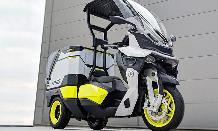 De rapide 3 een cargo scooter