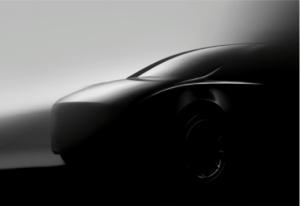 een mogelijk uitzicht van de Tesla model Y