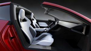 tesla rodster convertible