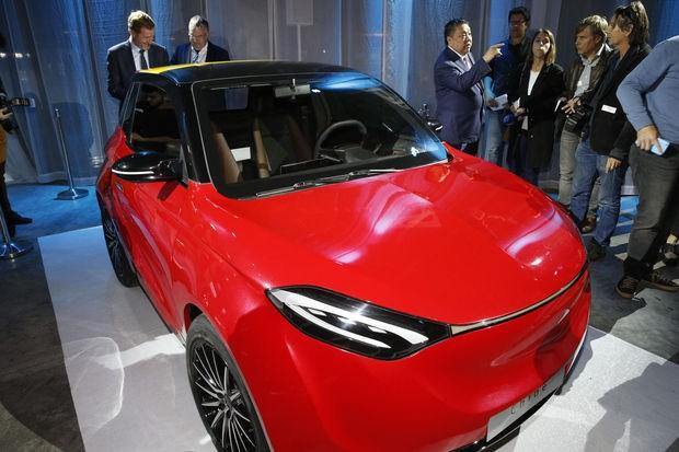 Thunder Power de kleine chinese elektrische stadswagen uit Charleroi