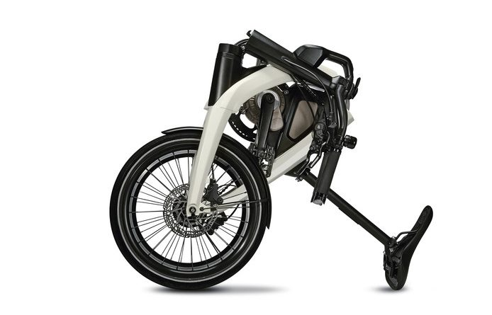 De plooibare GM e-bike