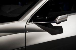 virtual mirror op een wagen