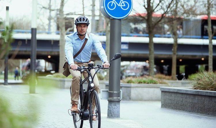 Een speedpedelec op het fietspad