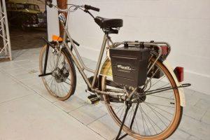 Een rivolt elektrische fiets
