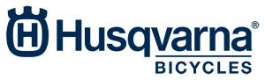 Logo van Husqvarna fietsen uit Duitsland