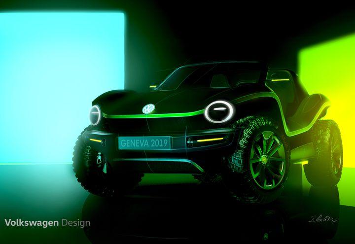 Volkswagen Dune Buggy concept car