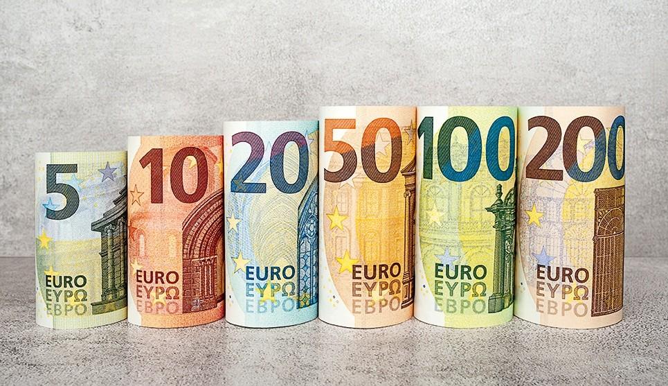 een pak euro's