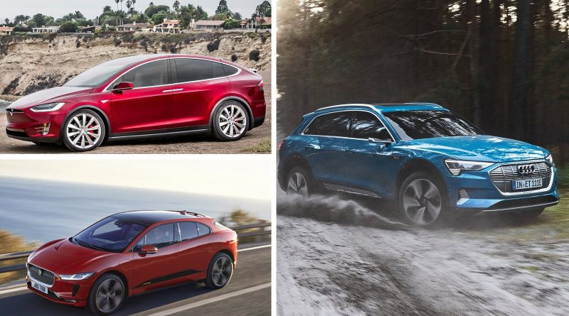 Tesla 24% efficienter dan audi e-tron