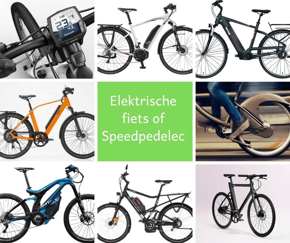 Kies ik een ebike of een speedpedelec?