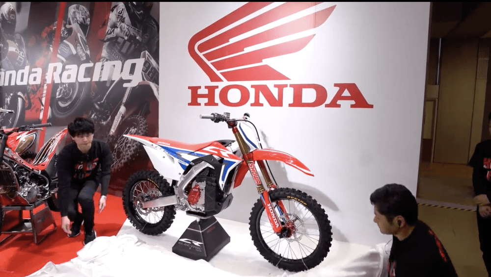 De elektrische Honda CRF