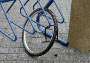 ook elektrsiche fietsen worden gestolen
