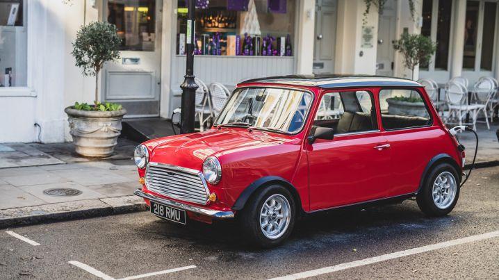 klaar voor een elektrische mini Cooper?