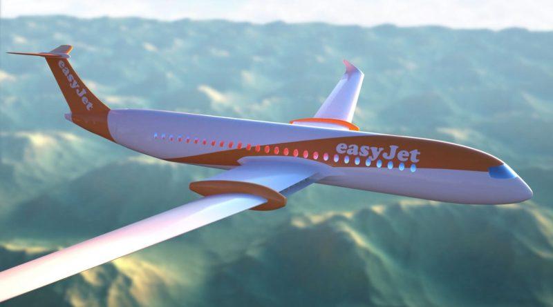 een elektrisch prototype va easyjet