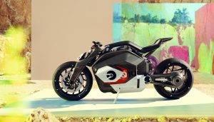 BMW Vision DC Roadster electric concept, een elektrisch monster